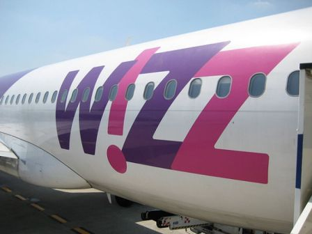 wizzair a Mosca