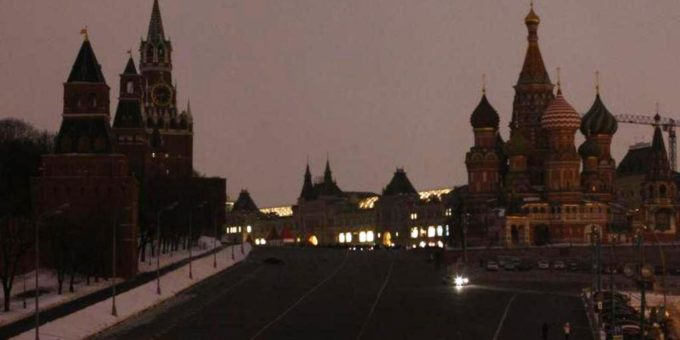 Earth Hour - Moscow - Mosca