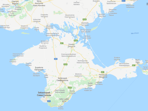 Penisola di Crimea - Per Apple appartiene alla Russia