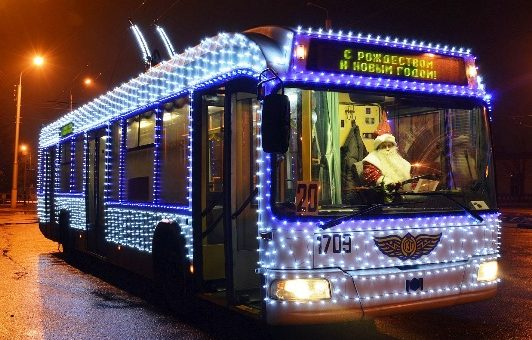 new year free bus moscow